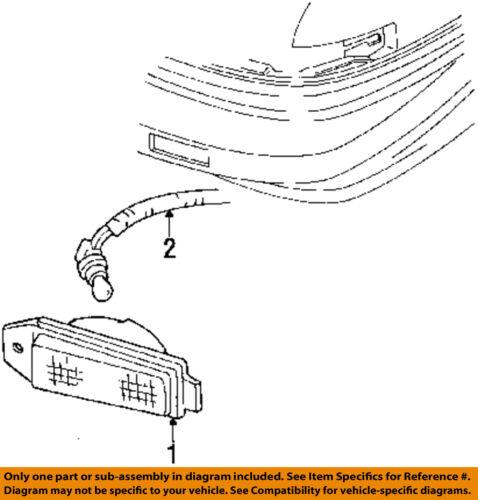 Chevrolet GM OEM 90-93 Lumina APV-Park Lamp Right 5975348