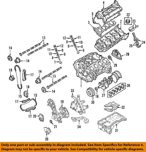 Nissan Oem Valve Cover Gasket 132707s000 Ebay