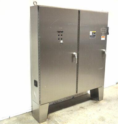 Hoffman A72x7312sslpn4 72x73 Panelboard Enclosure Stainless Disconnect 2-door