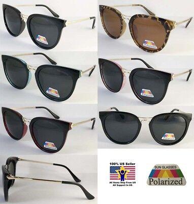 6 Pairs  Wholesale Polarized Sunglass Cat Eye Best Comfortable Unisex Anti (Best Designer Cat Eye Sunglasses)