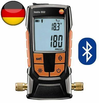 Testo 552 Vacuum Micron Bluetooth Gauge 0560 5522 Original Testo Made In Germany