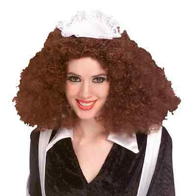 Rocky Wig (Magenta Wig Rocky Horror Drag Fancy Dress Up Halloween Adult Costume)