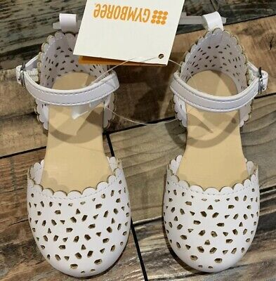 Gymboree White Eyelet Easter Dressy Shoes Girls Nwt Size - Girls White Easter Shoes