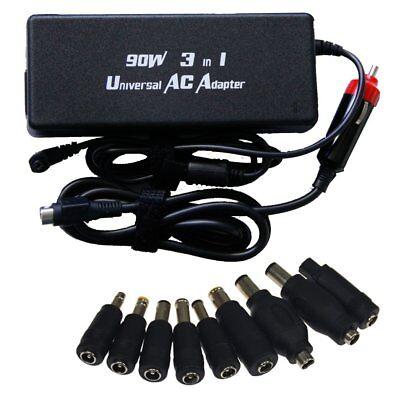 Laptop Notebook Universal Netzteil USB KFZ Ladekabel Ladegerät 12V-24V 90 Watt