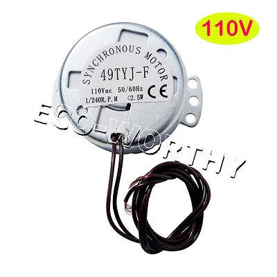 ECO Egg Timing Rotator Motor 110V 60Hz 1/240(rpm) for Incubator Kit Lab Teaching