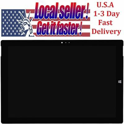 "Microsoft Surface Pro 3 1631 LTL120QL01 12"" LCD Touch Screen Digitizer Assembly"