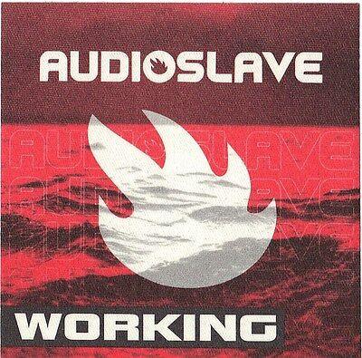 AUDIOSLAVE 2000's Concert Tour Backstage Pass!!! Authentic Original #2