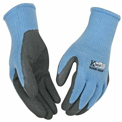 (Kinco 1790W-M Warm Grip Women's Cold Weather Latex Coated Knit Glove, Medium)