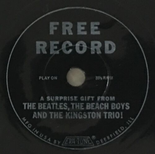 """A SURPRISE GIFT FROM THE BEATLES, Capital Records """"RECORD CLUB"""" PROMO, July 1964"""