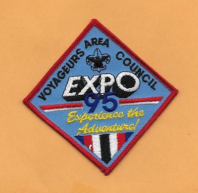 Bereich Pfad (Voyageurs Bereich Rat Expo 95 Pfadfinder Aufnäher BSA 10.2cm)