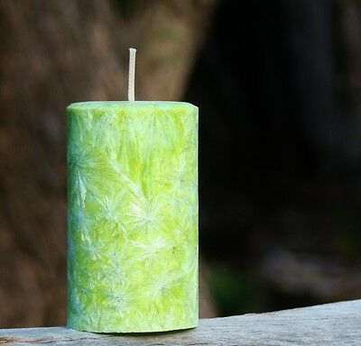 (200hr SWEET HONEY & GREEN TEA Triple Scented Natural Herbal ECO ARTISAN CANDLE)