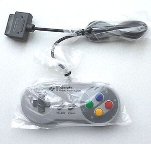 (RARE NEW) SNES SUPER FAMICOM OFFICIAL CONTROLLER SHVC-005 NINTENDO SFC