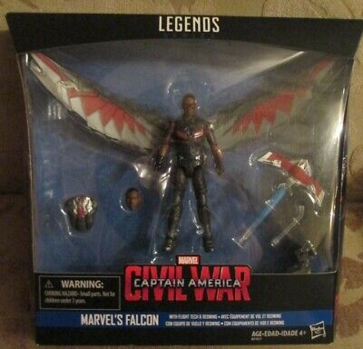 "FALCON Marvel Legends 4"" Deluxe Action Figure Captain America Civil War Movie"