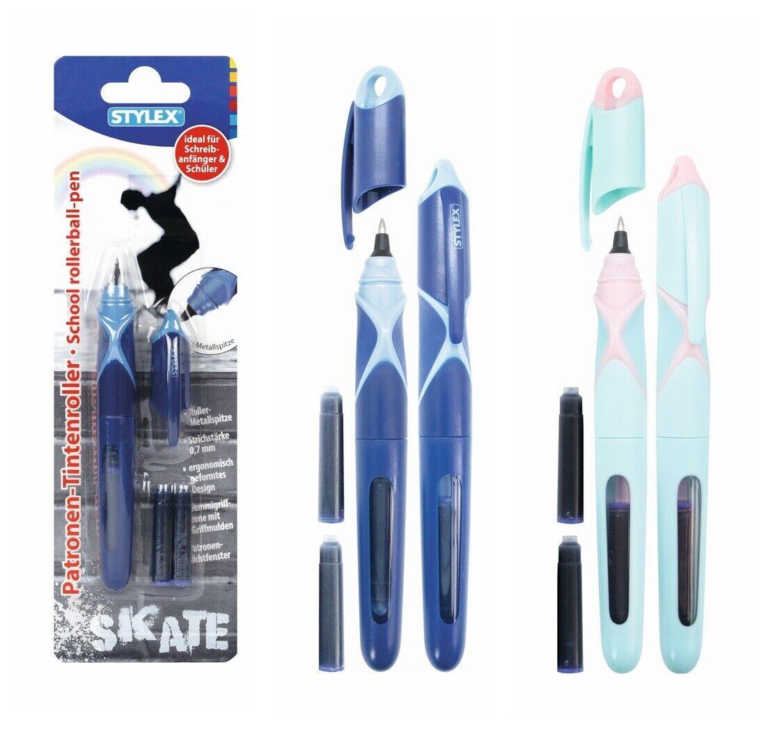 Tintenroller mit Metallspitze inkl.2 Patronen 32078 von Stylex