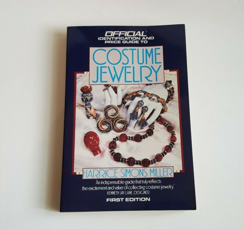 Official Identification Price Guide to Costume Jewelry 1990 Book