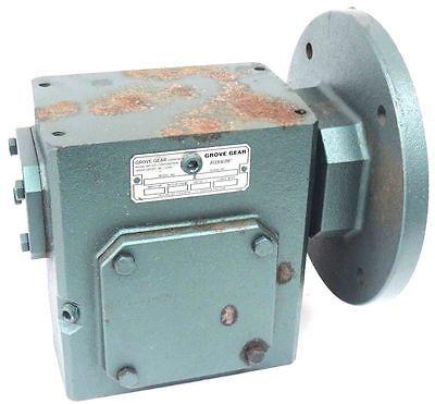 Grove Gear Bm0226-3 Worm Gear Reducer 51 Ratio 4.80 Input Hp 180t Motor Frame