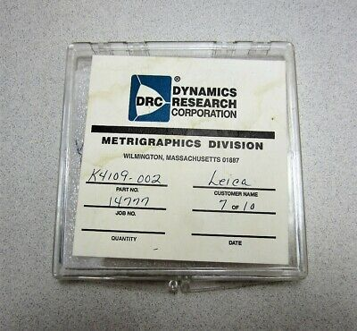 Dynamics Research Corp. Metrigraphics Division K4109-002 Leica