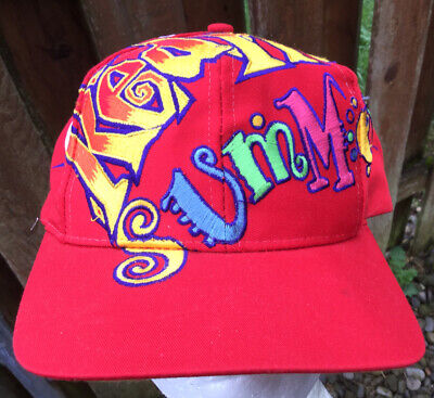 Vintage Coca Cola Red Hot Summer Hat The Game Snapback