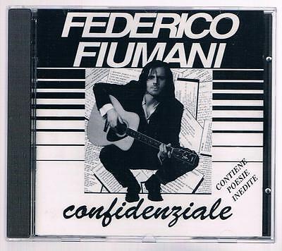FEDERICO FIUMANI  (DIAFRAMMA) CONFIDENZIALE ROVERSI DALLA CD F.C. NUOVO!!!