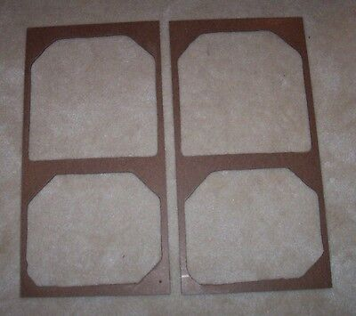 ACOUSTIC RESEARCH AR-3a NEW BARE SPEAKER GRILLES - COVER YOURSELF