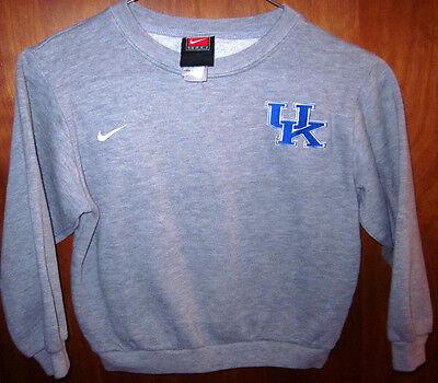 Kentucky University Embroidery (UNIVERSITY KENTUCKY Wildcats youth sweatshirt UK size 7 embroidery NIKE kids )