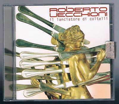 ROBERTO VECCHIONI IL LANCIATORE DI COLTELLI  CD