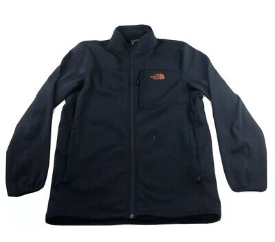 The North Face Men's L Navy Apex Bionic Stretch Softshell Jacket Full Zip