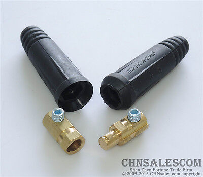A Set Of 10-25mm2 European Style Welding Cable Rapid Connector