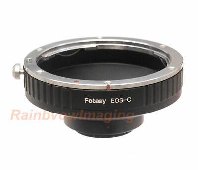Canon EOS EF EFs lens to C Mount Film Movie Bolex Video Camera CCTV Adapter Ring Camera Lens Adapter Ring