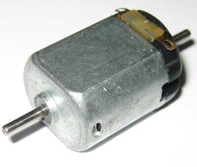Dual Shaft 3v Dc Small Electric Hobby Motor - 12000 Rpm - 2mm Diameter Shafts
