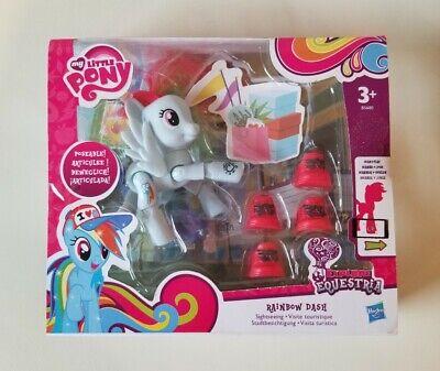 My Little Pony Rainbow Dash Explore Equestria Poseable Figure Sightseeing