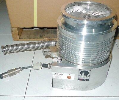 Leybold Tw701 Tw 701 800051v0023 Turbovac Turbo Pump Rotor Spins Freely