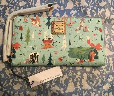Disney Bambi And Friends Dooney & Bourke Wallet NWTs