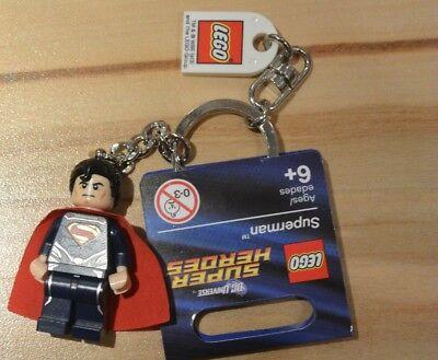 LEGO® DC Super Heroes Schlüsselanhänger 850813 Superman  2x   Neu Keychain new