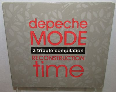 Various Artists  Reconstruction Time  Tribute To Depeche Mode Audio Cd  Scarce