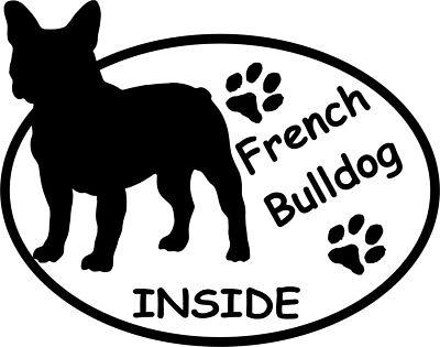 French Bulldog  -Aufkleber  - Autoaufkleber  -Neu-