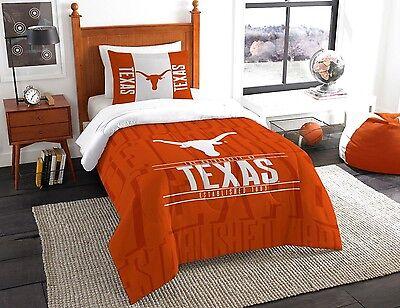 Texas Longhorns comforter sham 2PC 64x86 Twin size FREE SHIPPING UT bedding Texas Longhorns Comforter