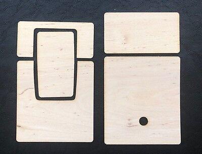 Polaroid SX-70  SLR-680 Belederung Holz skins for sx 70 & slr 680