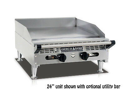 American Range Aemg-36 36rdquo Heavy Duty Manual Griddle With Stainless Steel