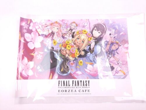 Official Final Fantasy XIV Eorzea Cafe Osaka Exclusive Placemat Print Rare MINT