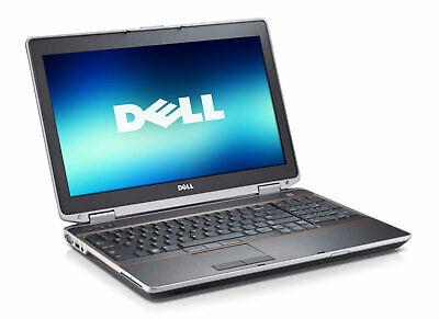 Dell Laptop Latitude E6520 Core i5 WiFi DVD 320GB Win 10 15.6' LCD HDMI 320 Gb 15.6 Lcd