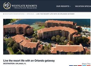 Orlando Florida Vacation Sale!