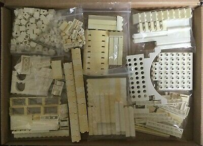 LEGO Harry Potter WHITE BRICKS ONLY from Gringotts Bank of Diagon Alley (10217)