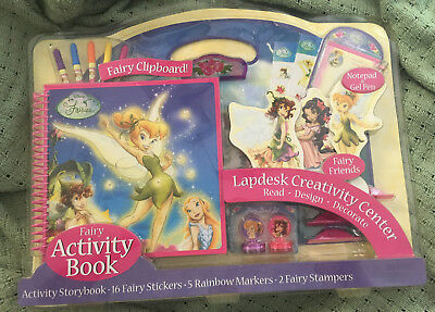 Creativity Center (NEW Disney Fairies Lapdesk Creativity Center with Fairy Clipboard/Activity)