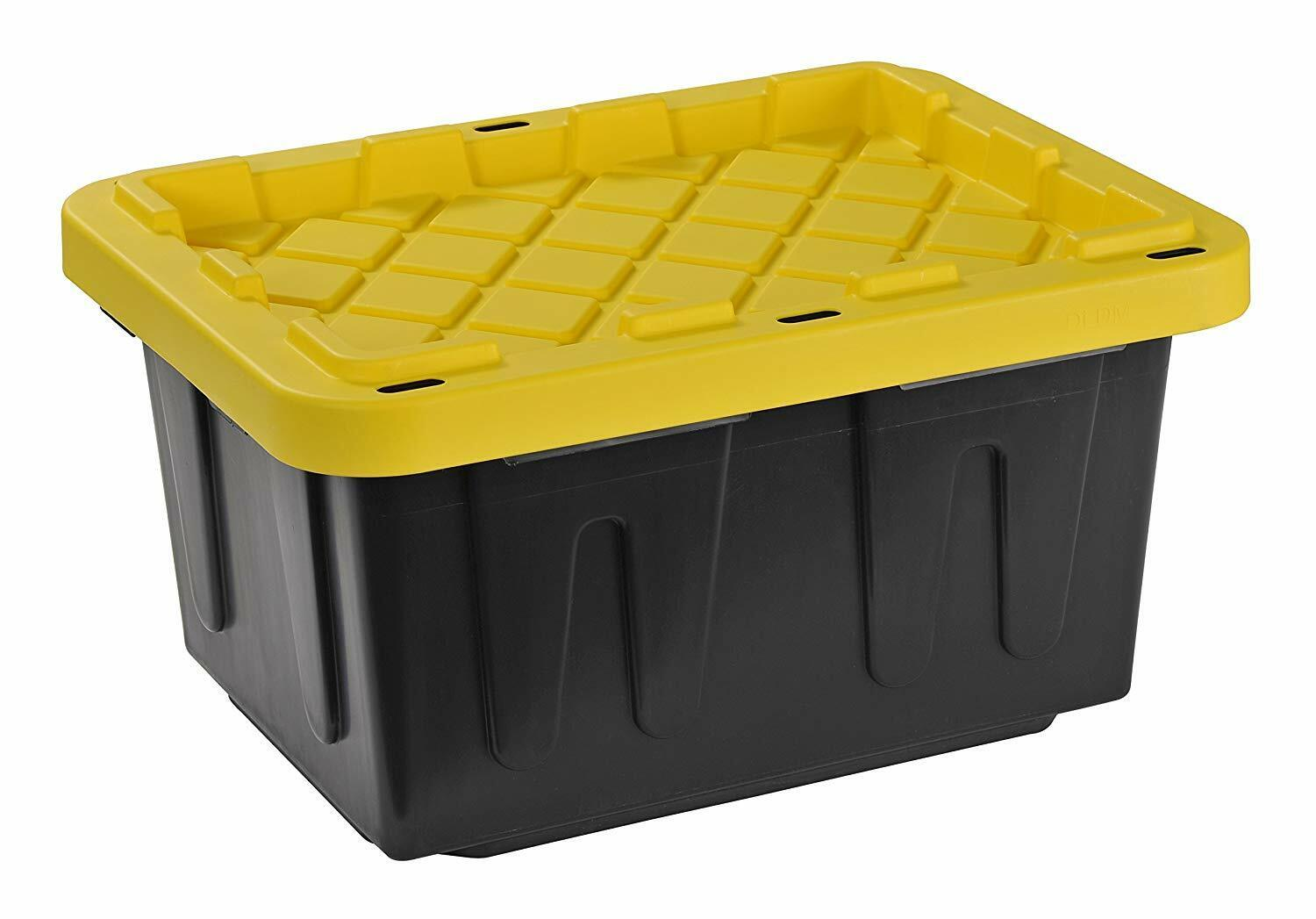 heavy duty storage container 4pack lockable 5