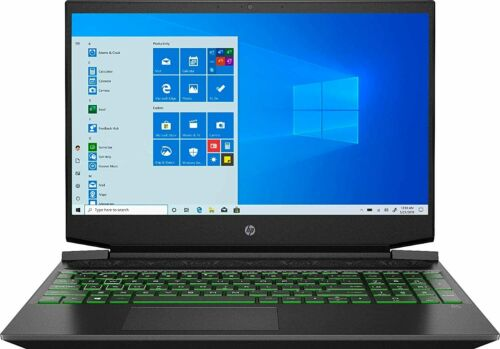 "HP 15-EC0013DX 15.6"" Gaming Laptop AMD Ryzen 5 3550H 8GB DDR4-2400 RAM 256GB SSD"
