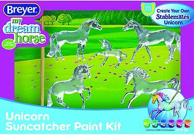 Breyer Suncatcher Unicorn My Dream Horse Stablemates Horse Craft Set Model #4220