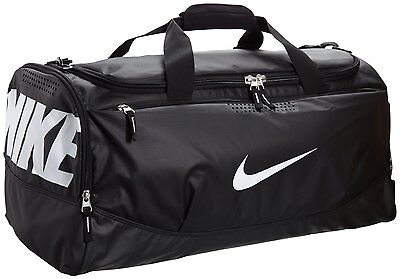 0c6228b01a UPC 826218184147 product image for Nike Air Max Team Training Duffel Bag  Medium Sports Holdall Gym