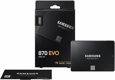 Hard disk Per Pc Laptop Fisso Alta Velocità SSD Samsung 870 EVO 500GB SATA 3 2,5