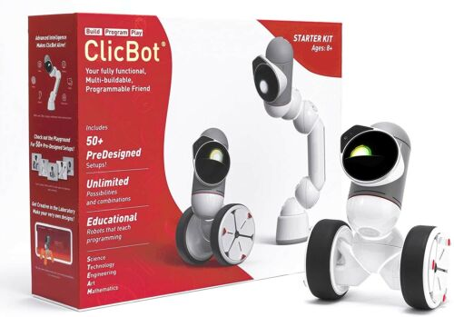 ClicBot Coding Robot Kits ,STEM Educational Kids Toys Programming (Starter Kit)